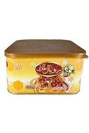 عسل رویال صادراتی متوسط قوطی چاپدار رویال طلایی 900 گرمی