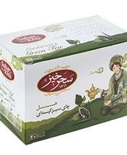 چای سبز کیسه ای هل سحرخیز 20 عددی