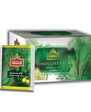 چای سبز کیسه ای لیمو مسما 20 عددی