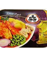 خوراک مرغ یک و یک 285 گرمی