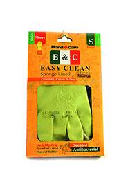 دستکش خانگی ساق کوتاه 3 لایه 2 رنگ سایز EASY CLEAN S