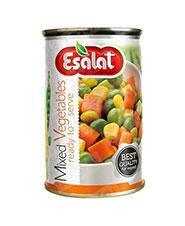 کنسرو مخلوط سبزیجات اصالت 380 گرمی