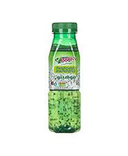 نوشیدنی بدون گاز  لیمو نعناع  تخم ریحان جینوورا 500 سی