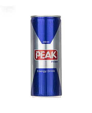 نوشابه انرژی زا فلزی  250 میل  PEAK
