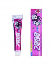 خمیر دندان کودک 2080 با رایحه توت فرنگی 80 گرمی