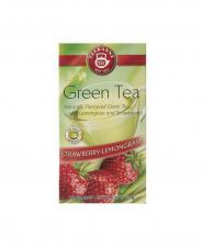 تی بگ چای سبز معطر کیسه ای توت فرنگی و علف لیمو تی کانه 20 عددی
