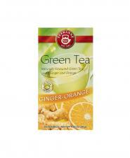 چای سبز معطر کیسه ای زنجبیل و پرتقال تی کانه 20 عددی