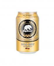 نوشیدنی مالت ساده طلایی بیگ بیر 330 میلی لیتری