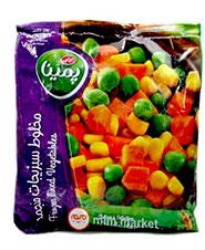 مخلوط سبزیجات  نخود سبز  ، ذرت و هویج پمینا کاله  750 گرمی