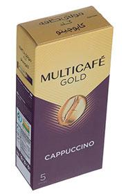 کاپوچينو گلد  مولتي کافه 22 گرمی 5 عددي