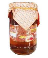 عسل شیشه ای با موم داغلار 700 گرمی