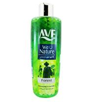 شامپو بدن شفاف سري لاو نيچر سبز اوه 400 گرمي