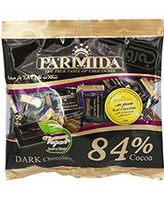 شكلات تلخ 84% بسته سلفوني پارميدا  220 گرمی