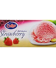 بستنی  توت فرنگی میهن  490 گرمی