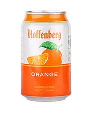 ابمیوه گازدار پرتقال قوطی هوفنبرگ  330 گرمی