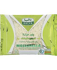 پنیر موزارلا  کم چرب و کم نمک رنده شده دالیا250 گرم