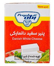 پنیر دانمارکی پگاه 210گرمی