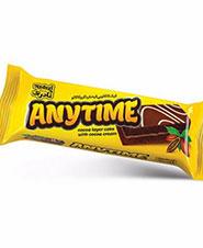 کیک کاکائویی لایه دار  نادری 80 گرمی