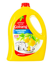 مایع ظرفشویی طرح 2 زرد گلرنگ  3500 گرمی