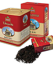 چاي خارجه مقوايي قرمز مسما 450g