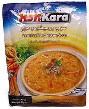 سوپ مرغ و ورمیشل هاتی کارا 70g