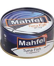 کنسرو تن ماهی  در آب نمک محفل 180 گرمی