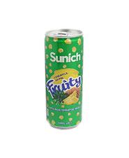 نوشيدني آناناس فروتي قوطي  سن ايچ 240 سي سي