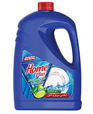 مایع ظرفشویی با آبکشی آسان حاوی لیمو 4 لیتری Home Plus