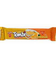 ويفر کاراملي با کرم پرتقال تامبي کوپا 18 گرمي