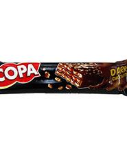 ويفر شکلاتي تلخ کوپا 40گرم