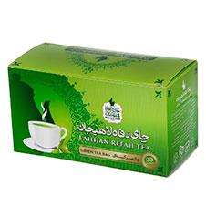 چای سبز کیسه ای رفاه لاهیجان 20 عددی