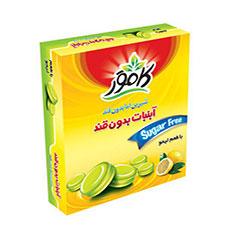 آبنبات بدون قند لیمو کامور 130 گرمی