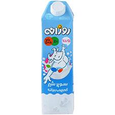 سوپر شیر کم چرب روزانه 1000 میلی لیتری
