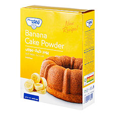 پودر کیک موز پگاه 500 گرمی
