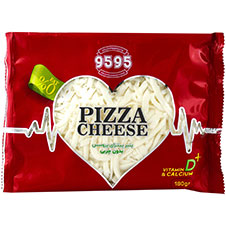 پنیر پیتزا رنده شده پروسس 9595 180 گرمی