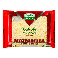 پنیر پیتزا رنده شده موزارلا دالیا 250 گرمی