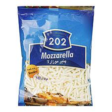 پنیر پیتزا رنده شده موزارلا 202 180 گرمی