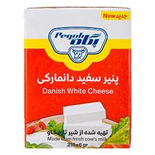 پنیر سفید دانمارکی پگاه 210گرمی