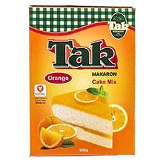 پودر کیک پرتقالی تک ماکارون 500 گرمی