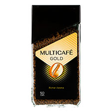 پودر قهوه فوری گلد مولتی کافه 100 گرمی