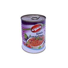کنسرو خوراک بادمجان ماهوند 350 گرمی