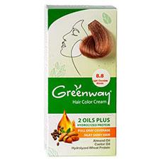 کیت رنگ موی شماره  8.8 گرین وی 50 میلی لیتری
