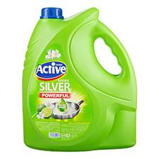 مایع ظرفشویی سبز اکتیو 3750 گرمی