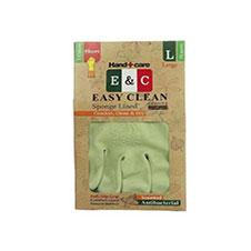 دستکش خانگی ساق بلند 3 لایه 2 رنگ ایزی کلین سایز L