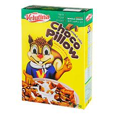غلات صبحانه بالشی شکلات ولوتینا 375 گرمی