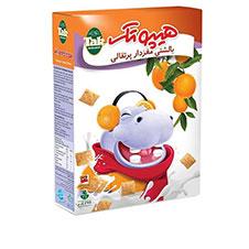 غلات صبحانه پرتقالی تک ماکارون 375 گرمی