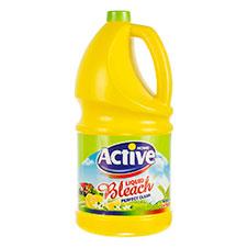 مایع سفیدکننده معطر زرد اکتیو 4000 گرمی