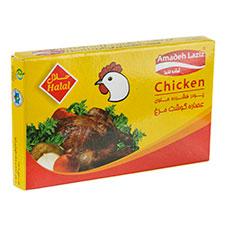 عصاره مرغ آماده لذیذ 10 گرمی 8 عددی