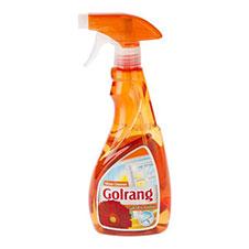 شیشه پاک کن گلرنگ نارنجی 500 میلی لیتری