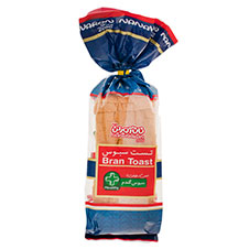 نان تست سبوس مزرعه 450 گرمی